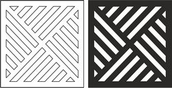 Geometric Grille Pattern File Free CDR