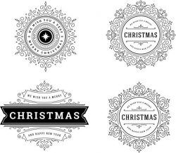 Snowflake Banner Template Download For Print Or Laser Engraving Machines Free CDR