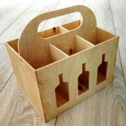 Beer Box Caddy For Laser Cut Cnc Free CDR