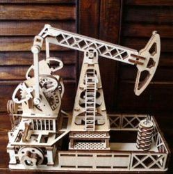 Oil Pumping Station Model For Laser Cut Cnc Free CDR