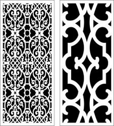 Design Pattern Panel Screen 056 For Laser Cut Cnc Free CDR