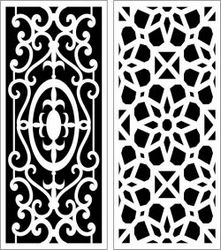 Design Pattern Panel Screen 057 For Laser Cut Cnc Free CDR