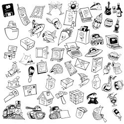 Lovely Objects With Eyes Free CDR