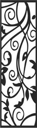 Abstract Screen Panels Seamless Swirl Free CDR