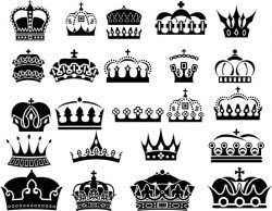 Royal Crown For Laser Cut Free DXF File
