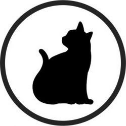 Coasters Cats Download For Printers Or Laser Engraving Machines Free DXF File