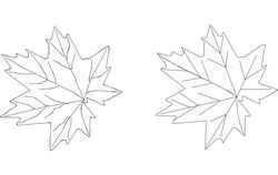 Maple Free DXF File
