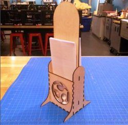Stationary Shelves For Laser Cut Cnc Free DXF File