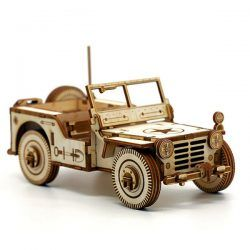 Military Vehicle Car For Laser Cut Cnc Free DXF File