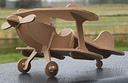 Pitts s1c Airplane Laser Cut Free DXF File