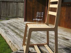 Wooden Chair Free DXF File